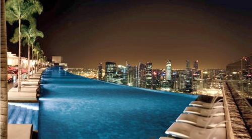 하늘 맞닿은 수영장… 싱가포르 전경 한눈에